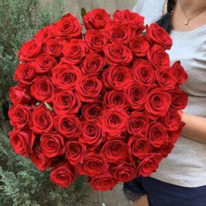 Купить букет из 51 розы в Киеве